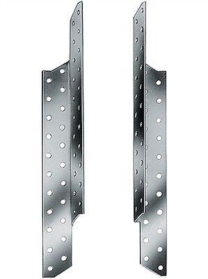 5 Paar Sparrenpfettenanker 170 mm, 5 x rechts 5 x links = 10 Stück