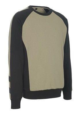 Mascot Sweatshirt Witten, Pullover, Größe L, khaki/schwarz