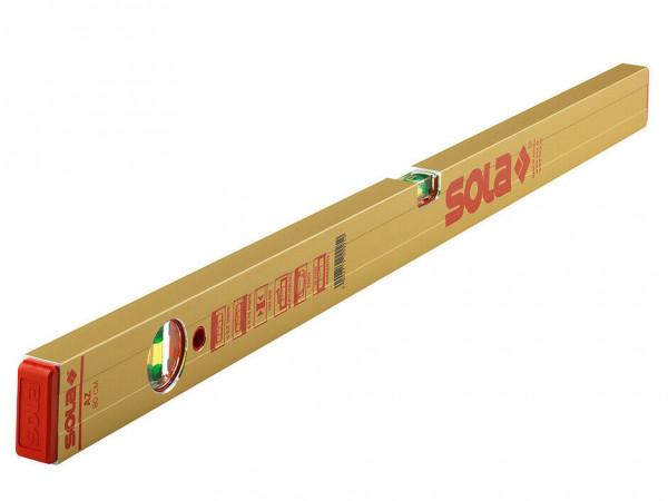 SOLA Alu Wasserwaage AZ 80 schwere Ausführung Länge 80 cm Wasserwaage AZ80