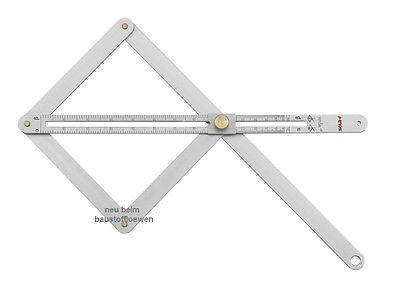 SOLA VK380 Winkelmesser Kombi-Winkel Kombinationswinkel VK 380 Winkelmesser