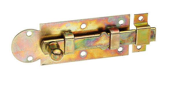 Fensterriegel Riegel Schubriegel Verschluß 100x30x11,5x13x38 gelb vz. GAH 113025