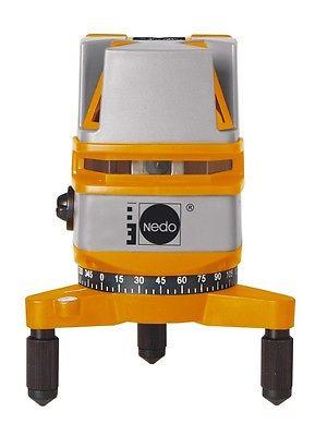 NEDO Kreuzlaser Kreuzlinienlaser X-Liner 3 mit 2 Laserkreuzen (4 Linien) 460873