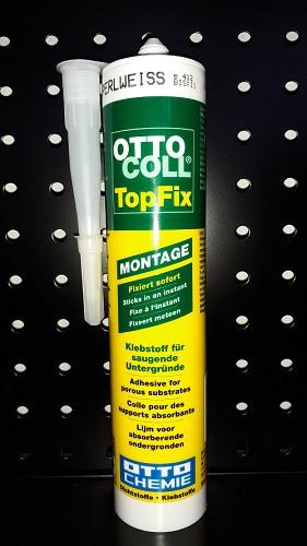 OTTOCOLL® TopFix Kleber Montagekleber Universalkleber perlweiß C194 310 ml
