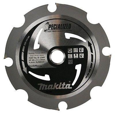 Makita Spezial Diamant Kreissägeblatt für Fermacell Faserzement, 165 mm, B-33685