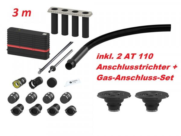 Hauff MSH Basic FUBO-BHP-3 m Mehrsparten-Bauherrenpaket inkl. Gas-Set + 2 AT110