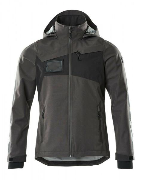 Mascot Hard Shell Jacke, Arbeitsjacke, Größe XL, dunkelanthrazit/schwarz