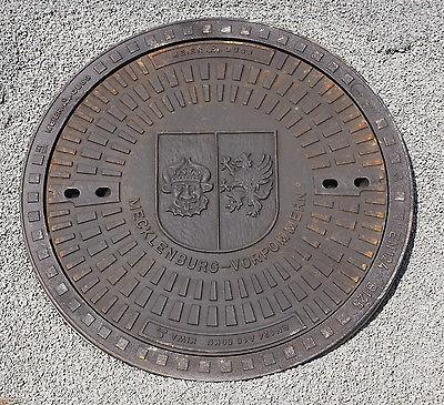 Gully Kanaldeckel Schachtdeckel Gullydeckel Klasse A15.50 Mecklenburg Vorpommern