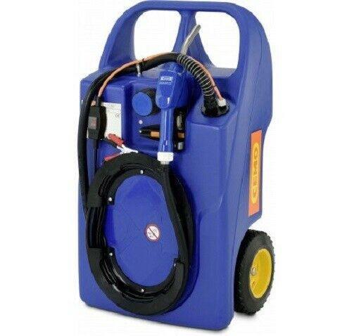 Cemo AdBlue® Trolley mobiler Kanister Behälter Tank Elektropumpe 60 l 11128