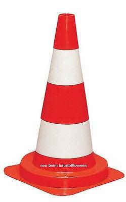 Verkehrs-Leitkegel oder Pylon, 50 cm, 1 Stück