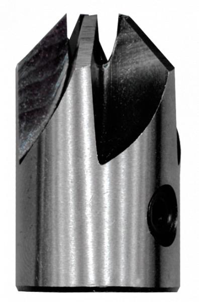 Heller 0102 Aufstecksenker 90° Ø 6 x 16/25 mm für Holzbohrer 118637