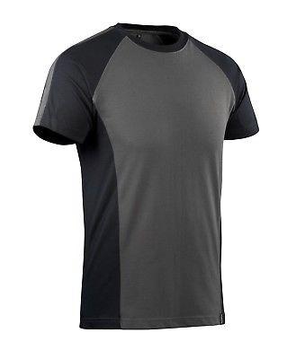Mascot T-Shirt Potsdam Gr. M weiß/dunkelanthrazit