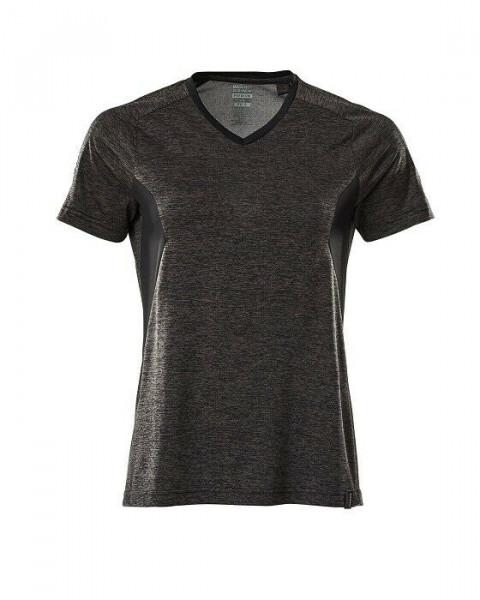 Mascot Damen T-Shirt Gr.S dunkelanthrazit/schwarz 18092-801-1809 Accelerate