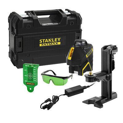 Stanley SLG-2V Linienlaser 360 Grad Grüner Laser Li-Ion FMHT-77617-1 in TSTAK