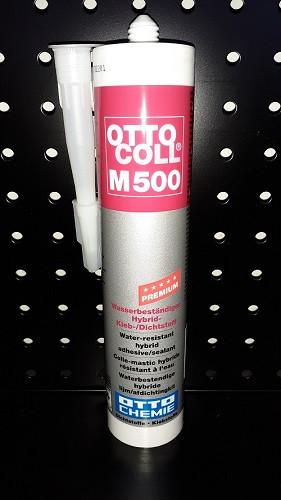 OTTOCOLL® M 500 Kleber Montagekleber Dichtstoff schwarz C04 310 ml