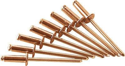 GESIPA Blindniete Niete Kupfer / Bronze 4x6 mm, Minipack = 50 Stk., 6353010