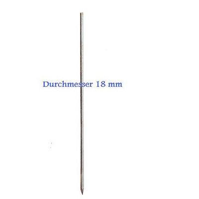 Schnurpfahl 18 mm, Länge 1000 mm, 10 Stück