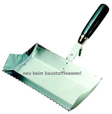 JUNG Porenbetonkelle Nr 870 Breite 75 mm Klebekelle Plansteinkelle Kleberkelle
