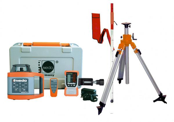 NEDO Rotationslaser-Set Sirius 1 HV, vollautomatisch, horizontal/vertikal 471941
