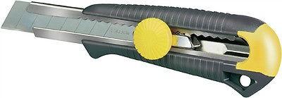 Stanley 0-10-418 Cutter Cuttermesser MPO für 10mm-Abbrechklingen, mit Schraube