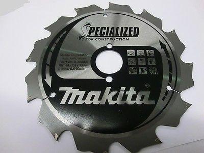 Makita Bau - Kreissägeblatt B-33554, 190 x 30 mm, extra robust, nagelfest