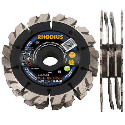 RHODIUS Diamantscheibe LD404 all-in-one Ø 150 mm 4-teilig für Mauerfräse 353315