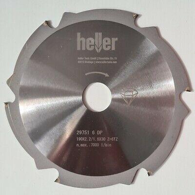 Heller HM-Kreissägeblatt für Faserzement 190x2,2x30 mm diamantbeschichtet
