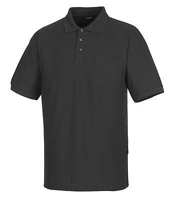 Mascot Polo-Shirt Borneo Gr. XL dunkelanthrazit Poloshirt mit Brusttasche