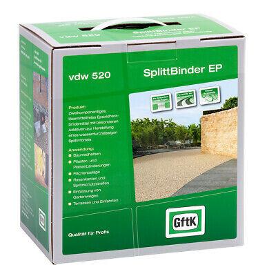 GftK 2K SplittBinder EP vdw 520 wasserdurchlässig f. leichte Verkehrsbelastungen