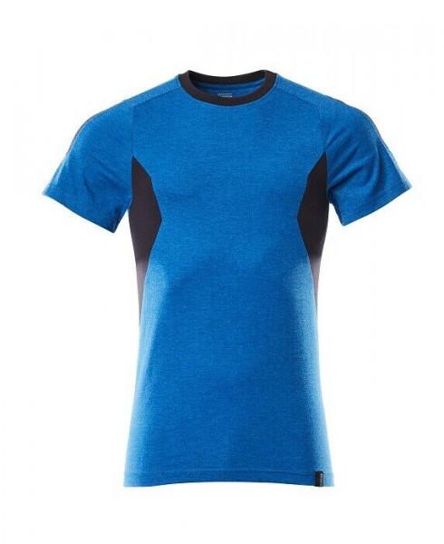 Mascot T-Shirt Accelerate Gr. M azurblau/schwarzblau 18382-959-91010 Kurzarm