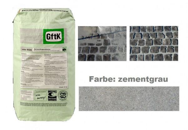 GftK Zementfugenmörtel vdw 400 zementgrau 25kg PKW befahrbar wasserundurchlässig