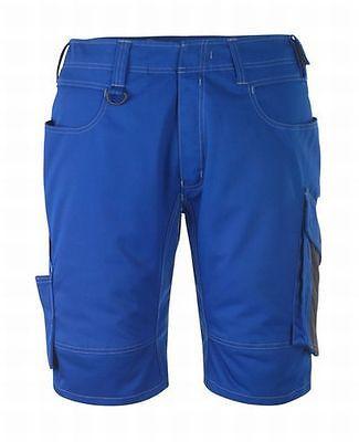 Mascot Shorts Stuttgart, Arbeitsshorts, kornblau/schwarzblau, Gr. 48, kurze Hose