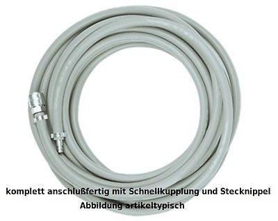 Schneider Druckluft Schlauch Ø 10 mm, Länge 10 Meter, Druckluftschlauch D730031