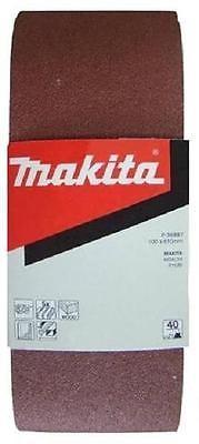 5 Stk. Makita Schleifband Schleifbänder 100x610 mm