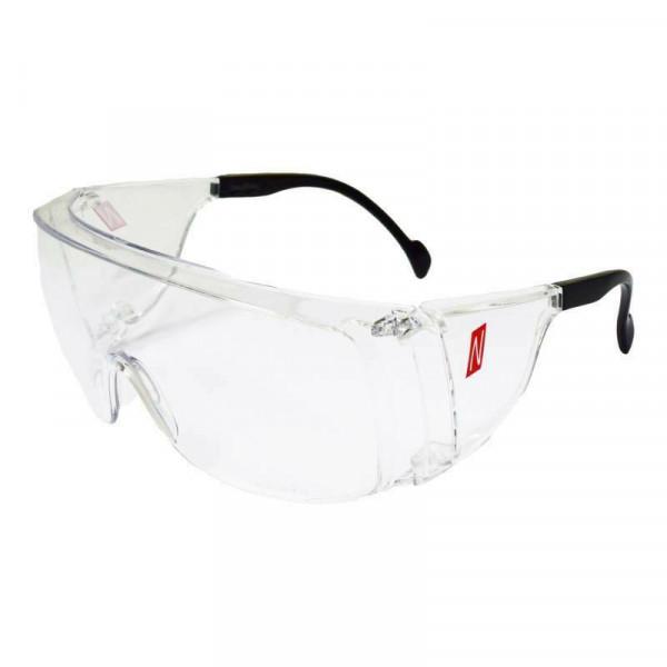 Nitras Schutzbrille Vision Protect OTG Arbeitsschutz klar für Brillenträger