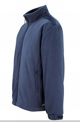 Jacke marineblau Arbeitsjacke Größe XL MacMichael Fleecejacke Bogota