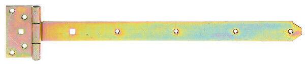 Kreuzgehänge Ladenband Ladenbänder Torband Scharnier Winkel Länge 500mm schwer