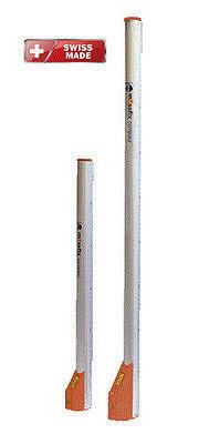 NEDO Messfix Compact Teleskop-Messlatte 0,60-3,04 m Teleskop-Meßstab runde Form