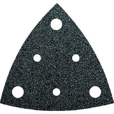 FEIN Multimaster Dreieck - Schleifpapier K 80, Schleifblätter gelocht , 50 Stück