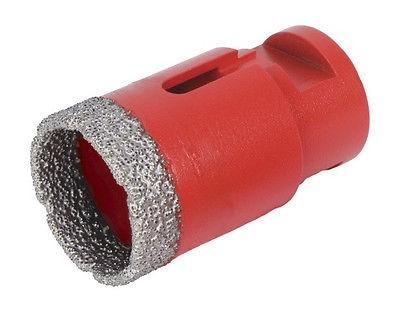 RUBI Winkelschleifer-Diamantbohrer Ø 28 mm Bohrkrone Diamantkrone für M14, 04911