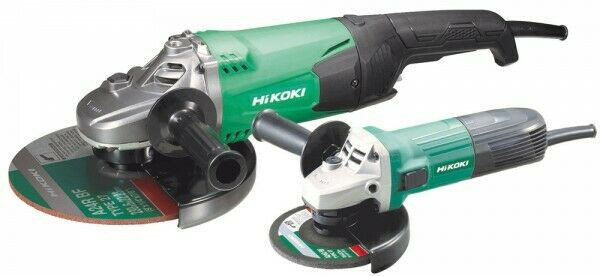 Hikoki Hitachi Winkelschleifer Set 230mm/2000W und 125mm/600W G23STCPZ