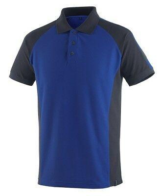 Mascot Polo - Shirt Bottrop Gr. 2XL kornblau/schwarzblau Polo-Hemd