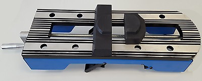 Schraubstock zu Holzstar Werktisch, Rollenbahn, UWT 3200