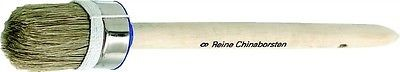 Rundpinsel, helle Borste, Größe 12 = 45 mm Durchmesser