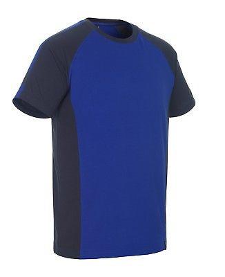 Mascot T-Shirt Potsdam Gr. L kornblau/schwarzblau