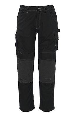 Mascot Hose Lerida, Arbeitshose, schwarz, lange Bundhose