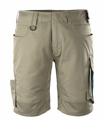 Mascot Shorts Stuttgart, Arbeitsshorts, khaki/schwarz, Gr. 50, kurze Hose