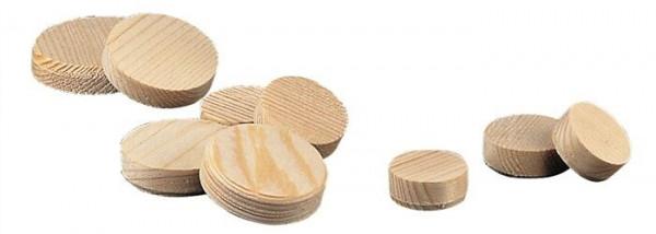 1 kg Holzscheiben Holzplättchen Querholzplättchen Konusplättchen 50 mm Kiefer