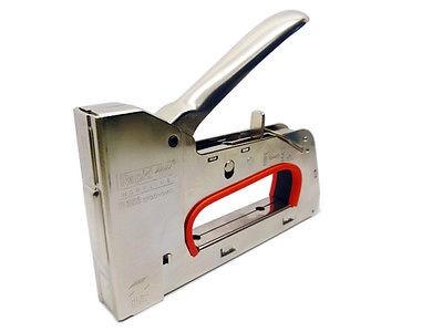 Handtacker Klammergerät Rapid 353 Stahl + 5000 Klammern 10 mm