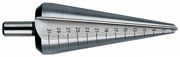 Heller 0924 HSS Blechschälbohrer 5-31 mm Länge 81/103 mm 226035