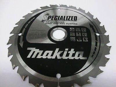 Makita Kreissägeblatt B-33093, 165 x 20 mm, Spezial, nagelfest, extra robust